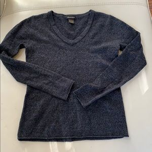 3x$20 100% cashmere sweater dark grey charcoal